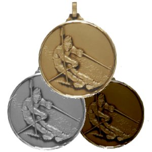 286-52 Crystech Skiing Medal